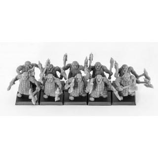Discípulos de Lugar con armas emparejadas