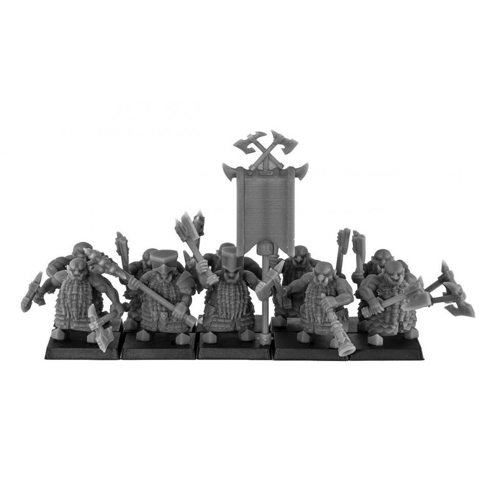 Pułk Miejsc z siekierą dwuręczną