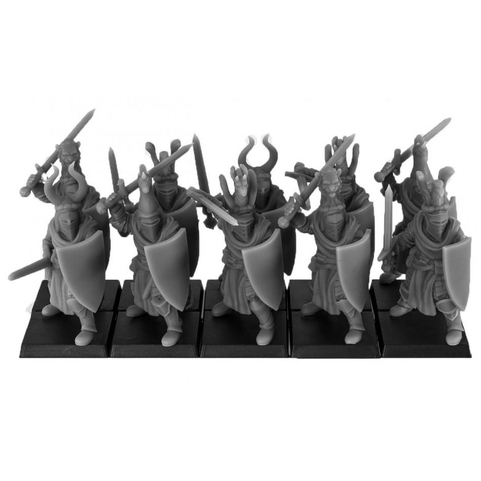 Cavalieri del Regno a piedi