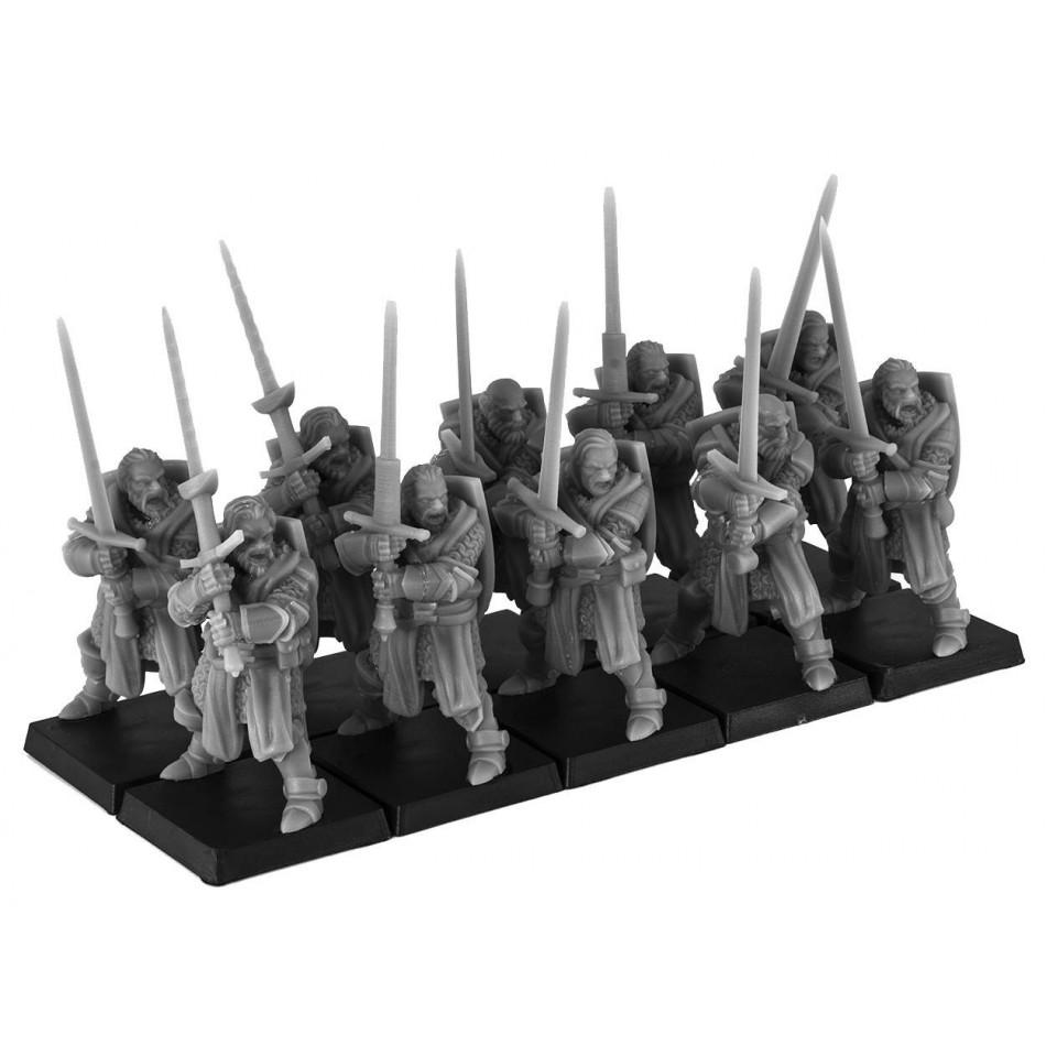 Cavalieri a piedi