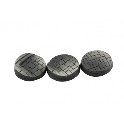 25mm round pavement bases (20)